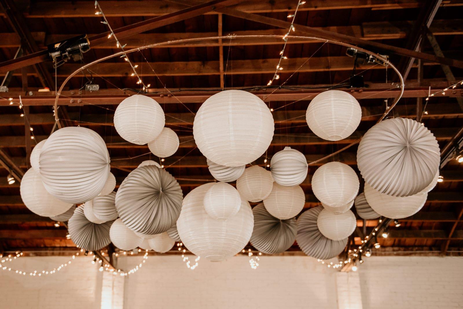 The Brickyard Reception Lighting Lamps