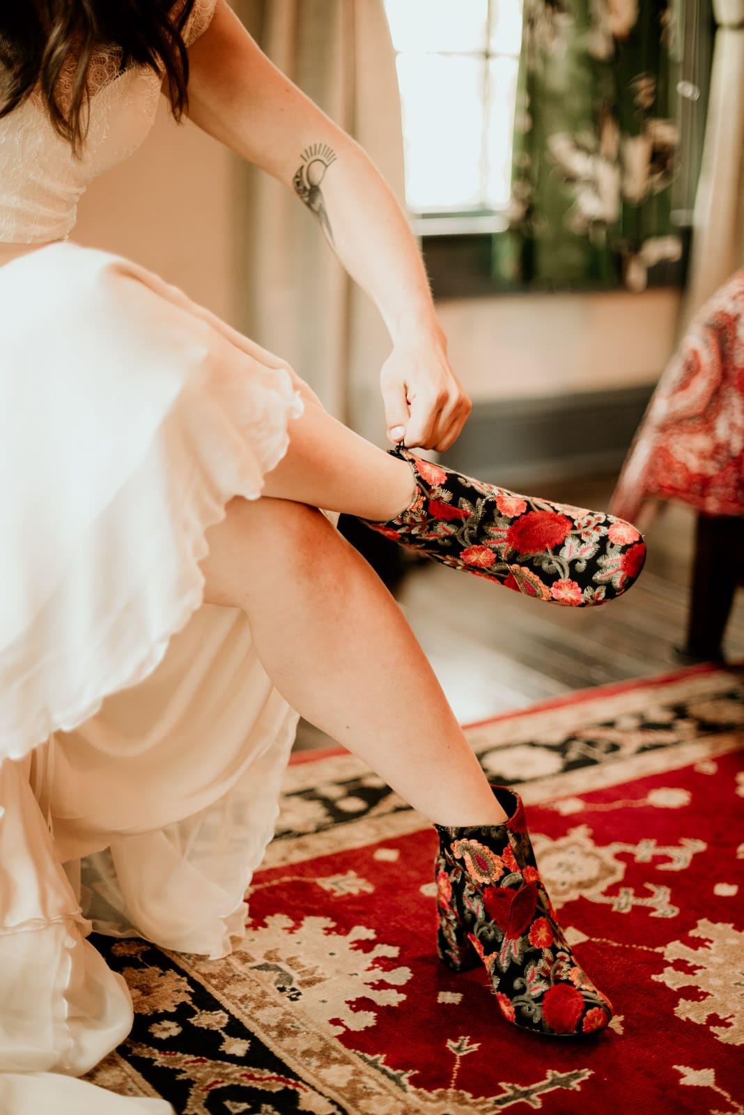 Bride Wedding Day Shoes